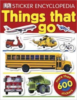 Sticker Encyclopedia: Things That Go