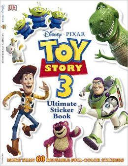 Ultimate Sticker Book: Disney Pixar: Toy Story 3