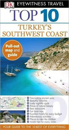 DK Eyewitness Top 10 Travel Guide: Turkey's South Coast