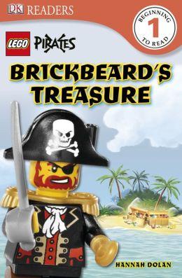 DK Readers L1: LEGO Pirates: Brickbeard's Treasure