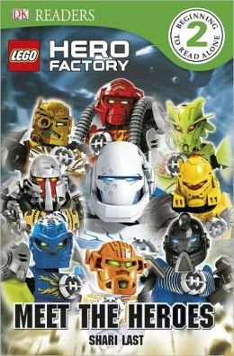 DK Readers, Level 3: LEGO Hero Factory: Meet the Heroes
