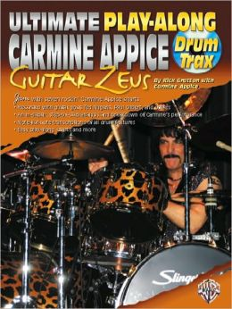 Ultimate Play-Along Drum Trax Carmine Appice Guitar Zeus: Book & 2 CDs