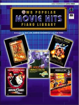 Popular Piano Library Movie Hits: Level 3, Book, CD & General MIDI Disk