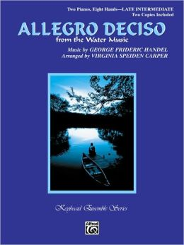 Allegro Deciso (from The Water Music): Sheet