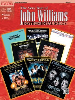 The Very Best of John Williams: Tenor Sax, Book & CD