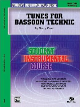Tunes for Bassoon Technic: Level One (Elementary)