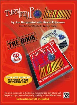 Turn It Up & Lay It Down: Book & CD