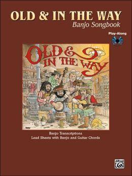 Jerry Garcia -- Old & In the Way Banjo Songbook: Lead Sheet/Banjo TAB, Book & CD