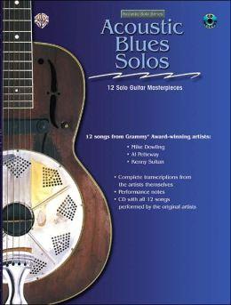Acoustic Masterclass: Acoustic Blues Solos, Book & CD