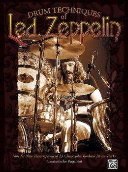 Drum Techniques of Led Zeppelin: Drum Transcriptions