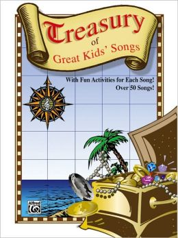 Treasury of Great Kids' Songs: Vocal/Piano