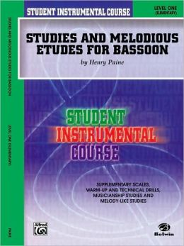 Student Instrumental Course Studies and Melodious Etudes for Bassoon: Level I