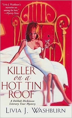 Killer on a Hot Tin Roof (Deliah Dickenson Mystery Series #3)