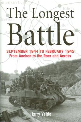 Longest Battle: September 1944 to February 1945, From Aachen to the Roer and Across