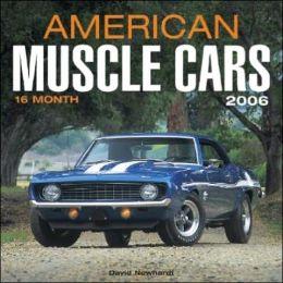 American Muscle Cars Wall Calendar 2006
