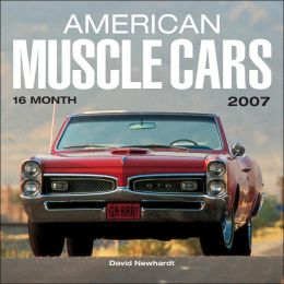 2007 American Muscle Cars Wall Calendar