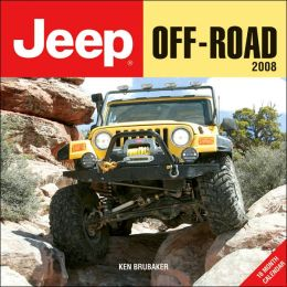 2008 Jeep Off-Road Wall Calendar
