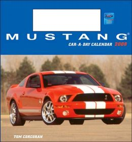 2008 Mustang Car-a-Day w/toy Box Calendar