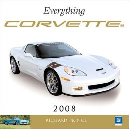 2008 Everything Corvette Wall Calendar
