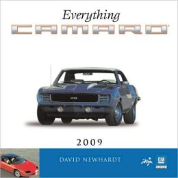 2009 Everything Camaro Wall Calendar