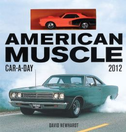 American Muscle Car-A-Day 2012 w/toy