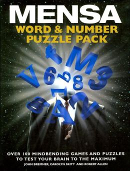 MENSA: Word & Number Puzzle Pack