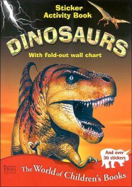 Dinosaurs: Sticker Activity Book