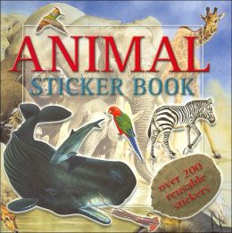Animal-Sticker Book