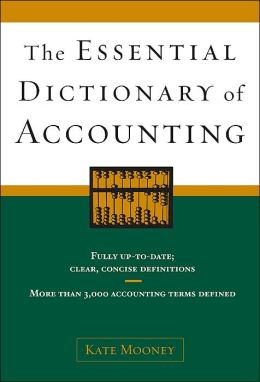 The Essential Dictionary of Accounting