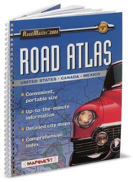 2004 RoadMaster Portable Deluxe Road Atlas
