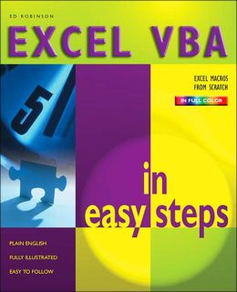 Excel VBA in Easy Steps (In Easy Steps Series)