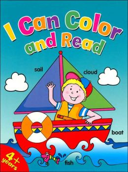 I Can Color and Read