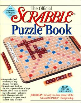 The Official Scrabble Puzzle Book: For Beginners and Experts Alike