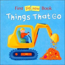 First Jigsaw Book: Things That Go