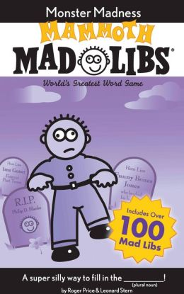 Mammoth Mad Libs: Monster Madness