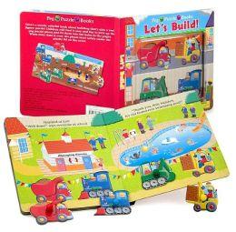 Let's Build! (Peg Puzzle Books)