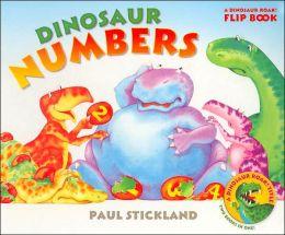Dinosaur Numbers and Dinosaur Colors: A Dinosaur Roar! Flip Book