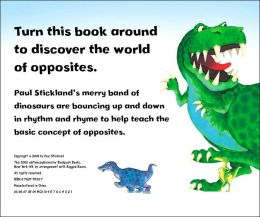 Dinosaur Roar Flip Book: Dinosaur Opposites and Dinosaur Shapes