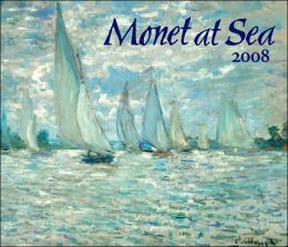 2008 Monet At Sea Wall Calendar
