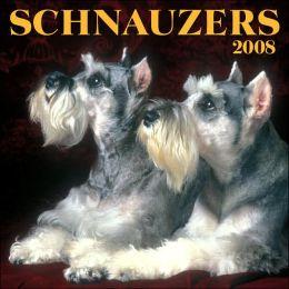 2008 Schnauzers Wall Calendar