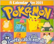 2001 Pokemon Box Calendar