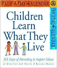 2002 Children Learn What They Live Page-A-Day Calendar