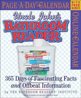 2004 Bathroom Reader Page a Day Calendar