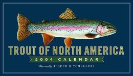 2004 Trout of North America Wall Calendar