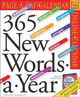 2004 365 New Words-A-Year Page a Day Calendar
