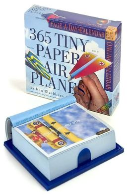 2005 365 Tiny Paper Air Planes Box Calendar