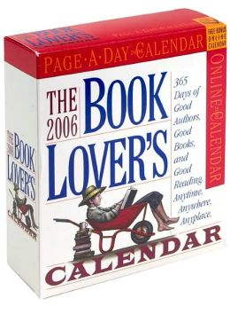2006 Book Lover's Page-a-Day Box Calendar