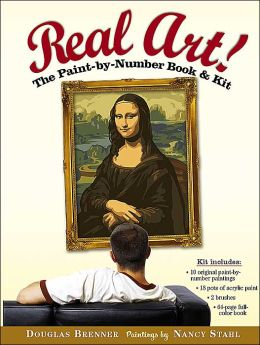 Real Art!: The Paint by Number Book and Kit