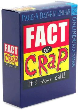 2006 Fact or Crap Page-A-Day Box Calendar
