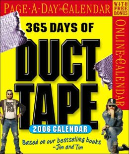 2006 365 Days of Duct Tape Page-A-Day Box Calendar